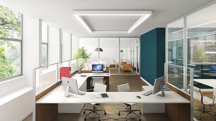Lampy do nowoczesnego biura