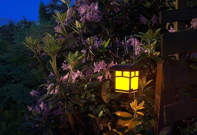 Jakie lampki ogrodowe wybrać? 5 pomysłów na oświetlenie ogrodu!