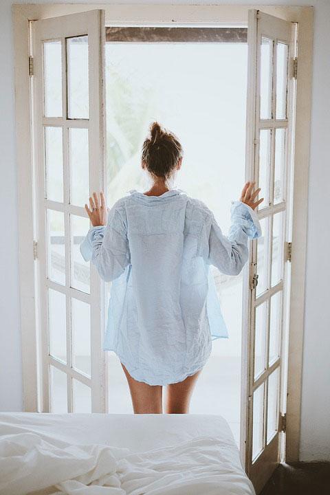 firanka na okno balkonowe