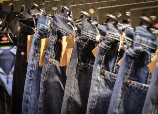 spodnie jeansowe damskie z wysokim stanem